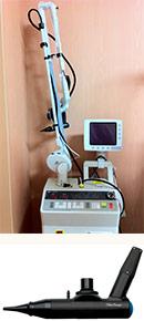 レーザー鼓膜切開装置「OtoLAM」