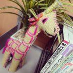 【Instagram】キリンさんのぬいぐるみ