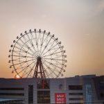 【Instagram】アミュラン越しの夕日