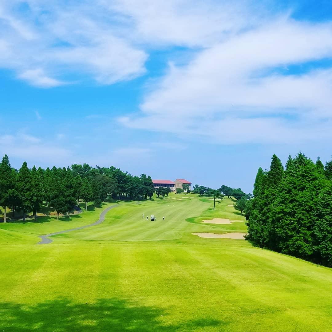 第17回鹿児島オープンゴルフ in 島津ゴルフ倶楽部。