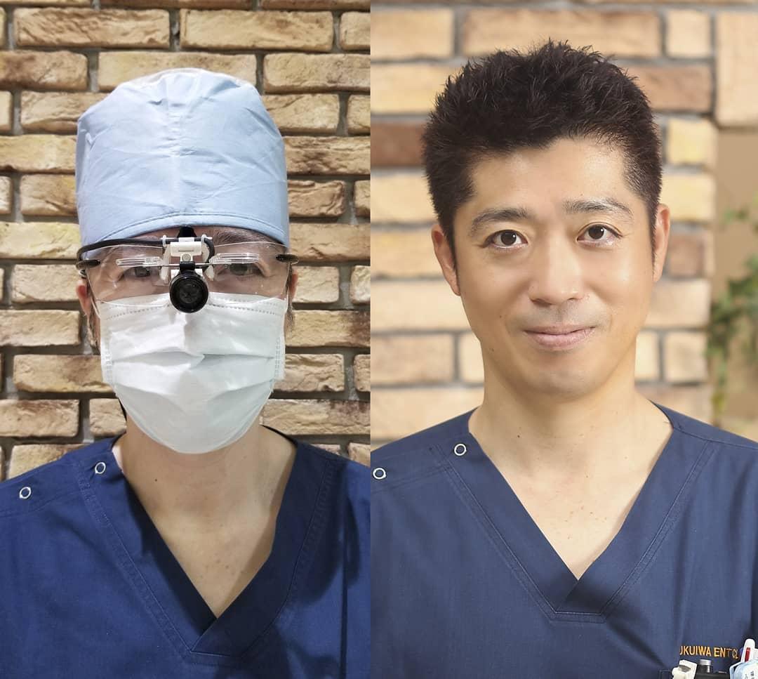 防護体制を強化中。 新型コロナウイルスの感染防止に向けて、日本プライマリ・ケア連合学会から診療時の対策に関する手引きが発表されました。 発熱者を別室隔離、完全個室での診察、スタッフ全員のサージカルマスク着用という点は開業当初から遵守出来ております。 診察時のゴーグルによる保護、グローブ着用も従来から行っていますが、頭部の防護が不足していたため新たに手術用帽子を導入しました。 色々装着したら誰だか分からなくなってしまいましたが、いつも通り福岩院長が診察しております 。。。子供さん方からは「先生、頭どうしたの!?」と突っ込まれがちです。。。怪我したと思われたらしいです(笑) しかしコロナウイルスを恐れるあまり、診察内容を縮小して不十分な診断となってしまうようでは、扁桃炎、喉頭蓋炎、鼻副鼻腔炎などの上気道感染症を見逃してしまう危険性があります。 そこは耳鼻咽喉科専門医として、ウイルス感染防止対策を行いながらも気合い入れて診察しております ふくいわ耳鼻咽喉科クリニックでは、安全には十分配慮しつつ、平常心で通常診療を行っております。
