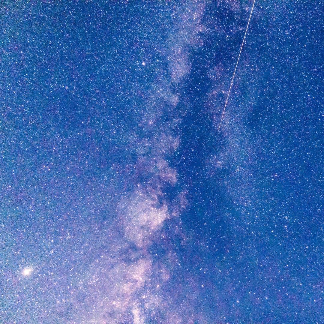 ペルセウス座流星群を観察。
