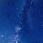 ペルセウス座流星群を激写