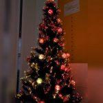 クリスマスツリー点灯しました