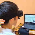 めまいの診断機器、ビデオ式眼振計測装置(VOG)