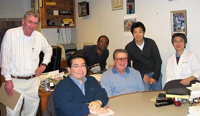 UABの研究室にて、2005年2月撮影。